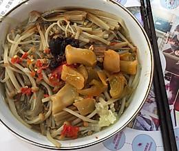 金针菇粉条(减肥晚餐)的做法