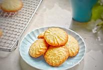 #秋天怎么吃#酥脆的杏仁曲奇饼干的做法