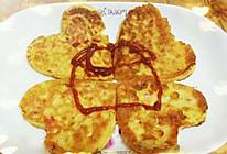 玉米胡萝卜蛋饼的做法
