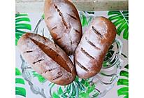黑金全麦核桃蔓越莓软欧包,手揉,低脂营养,减肥必备!的做法