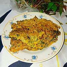 #换着花样吃早餐#春味十足的香椿煎蛋