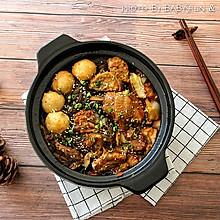 今晚吃鸡!烧鸡公#竹木火锅,文艺腹兴#