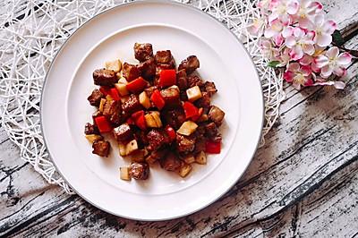 蚝油黑胡椒牛肉粒