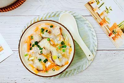 鲜甜营养好喝瘦肉香菇胡萝卜粥
