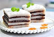 山药大米红豆糕#单挑夏天#的做法