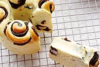 豆沙手撕面包的做法