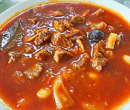 番茄牛腩(汤)的做法