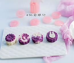 """给孩子一个仪式感的中秋节 婴幼儿都能吃的""""月饼""""#嘉宝辅食#的做法"""