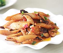 降脂美白又减肥:茄汁香菇炒茄子的做法