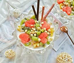 #甜品#酸奶水果捞的做法