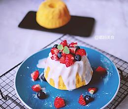 水果酸奶淋面蛋糕的做法