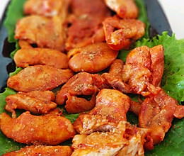 烤箱版:奥尔良烤鸡腿肉的做法
