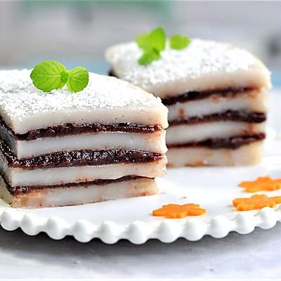 山药大米红豆糕