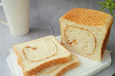 #花10分钟,做一道菜!#肉松全麦土司