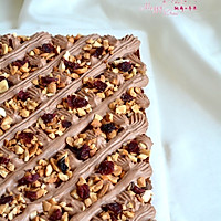 可可奶油果仁蛋糕#美的烤箱菜谱#的做法图解27
