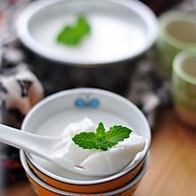#嗨Milk羽泉精选牧场奶#牛奶果冻