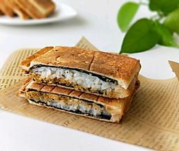 海苔肉松寿司三明治的做法