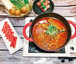 #冬天就要吃火锅#家庭自助羊蝎子火锅的做法