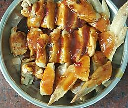 鲮鱼肉酿鸡翅的做法