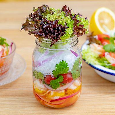 瓶子沙拉|新鲜健康
