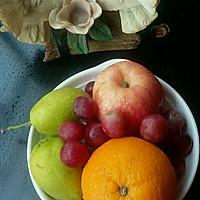 葡萄、橙子、雪梨,苹果汁#一机多能 一席饪选#的做法图解1