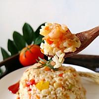 #秋天怎么吃#虾仁时蔬炒饭的做法图解12