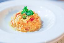 葱说 | 意大利海鲜烩饭 #福临门创意米厨#的做法