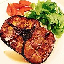 洋葱烤鳕鱼