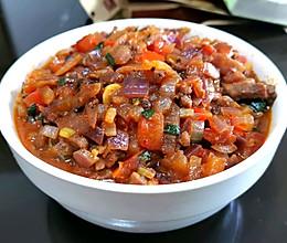 洋葱番茄牛肉酱的做法