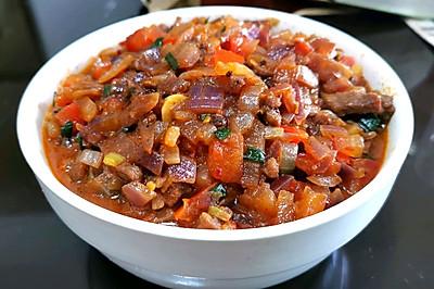 洋葱番茄牛肉酱