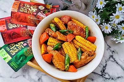 玉米鸡翅煲