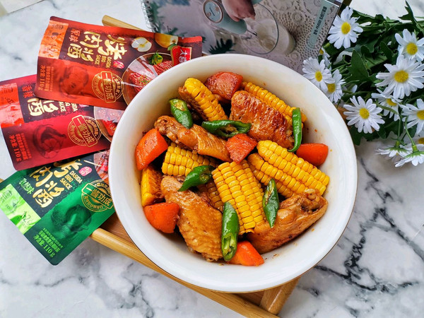 玉米鸡翅煲的做法