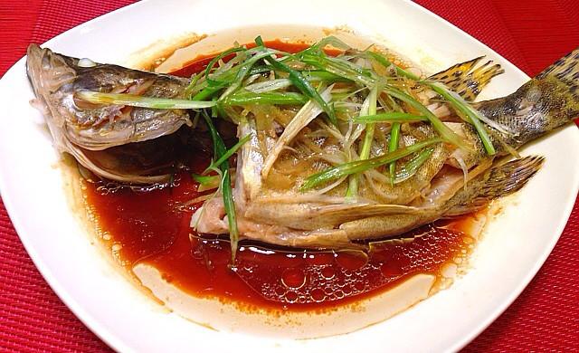 清蒸桂花鱼