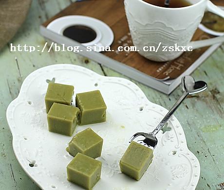 抹茶豆腐冻