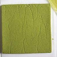 抹茶棉花蛋糕卷#春天里的一抹绿#的做法图解16