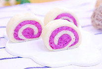 双色紫薯馒头  宝宝辅食食谱的做法
