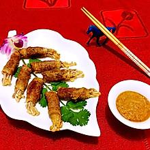 肥牛金针菇香香卷