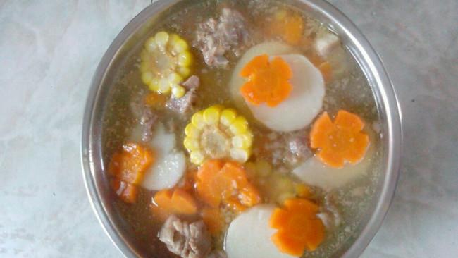 美味营养排骨汤的做法