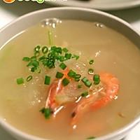 冬瓜鲜虾汤