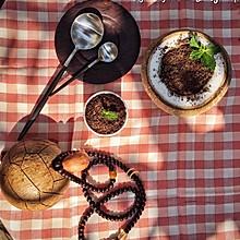 椰子冻盆栽--如何自制椰子冻