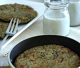 黑豆豆浆+黑豆豆渣饼的做法