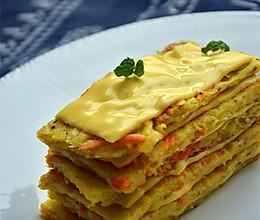 芝士土豆千层饼 — #百吉福芝士片创意早餐#的做法