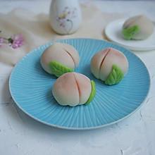 豆沙馅的水蜜桃#秋天怎么吃#