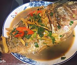 #爱乐甜夏日轻质甜蜜#家常菜简单美味红烧罗非鱼的做法