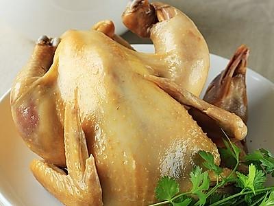 电饭煲版---盐焗鸡的做法