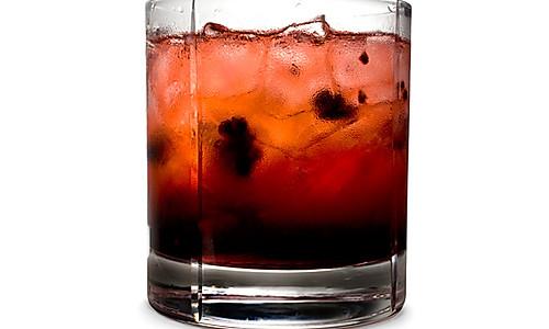 黑莓鸡尾酒的做法