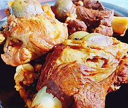 酱骨头㊙️猪大骨这么做太香了的做法