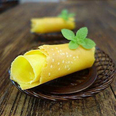 芝麻柠檬蛋卷
