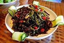 夏日爽口小菜—酸辣海带丝的做法