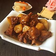 土豆炖鸡腿#舌尖上的外婆香#